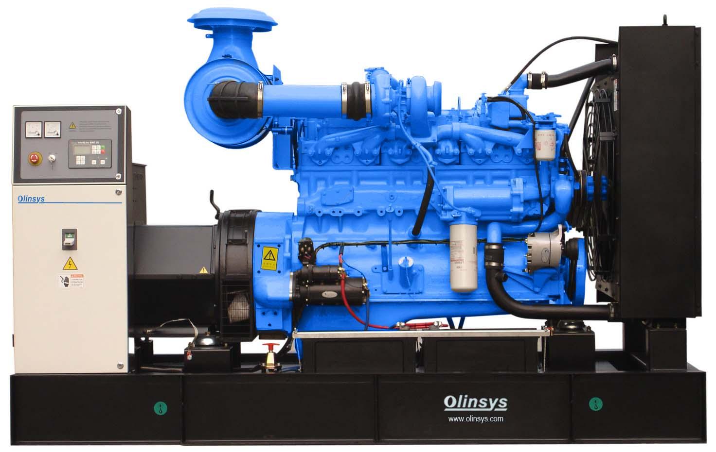 Motor diesel generador electrico